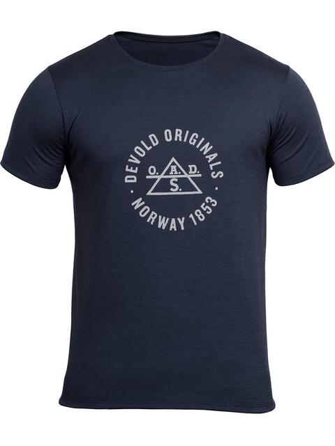 Devold Original - T-shirt manches courtes Homme - bleu